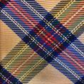 Ascot gele tartan stropdas