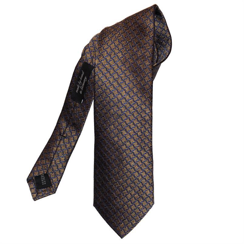 Ascot gouden motief stropdas