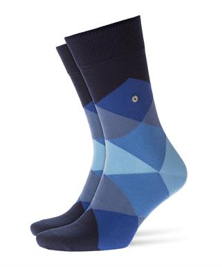 Burlington donkerblauwe Clyde sokken