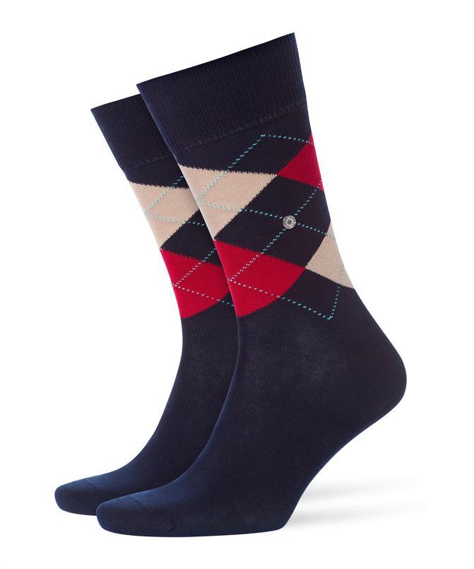 Burlington donkerblauwe Manchester sokken