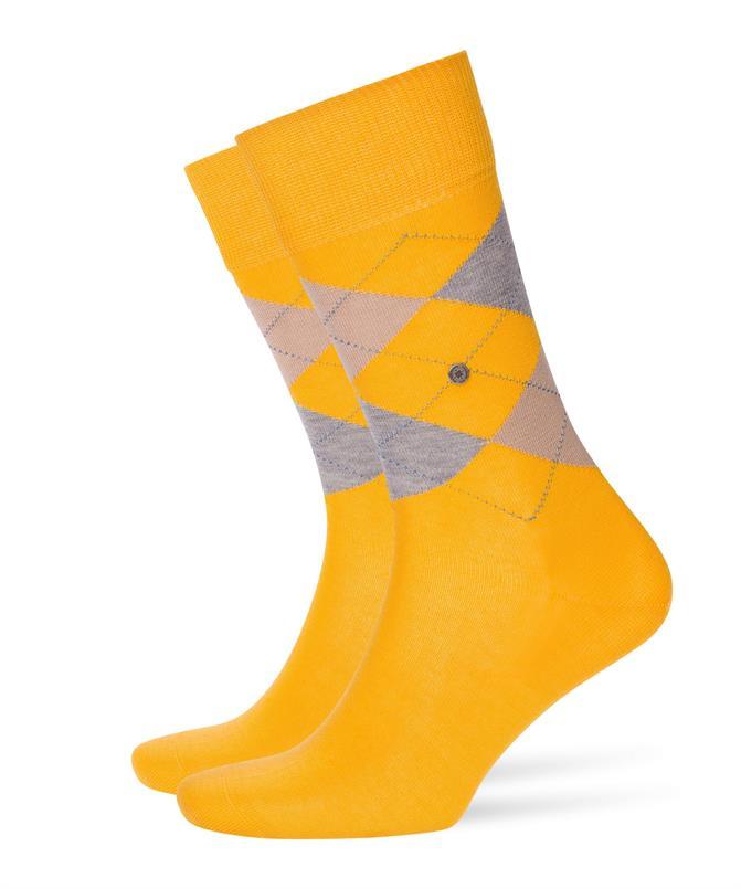 Burlington gele Manchester sokken