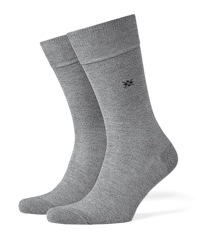 Burlington grijze Dublin sokken