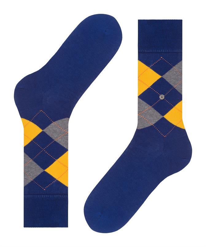 Burlington kobalt Manchester sokken