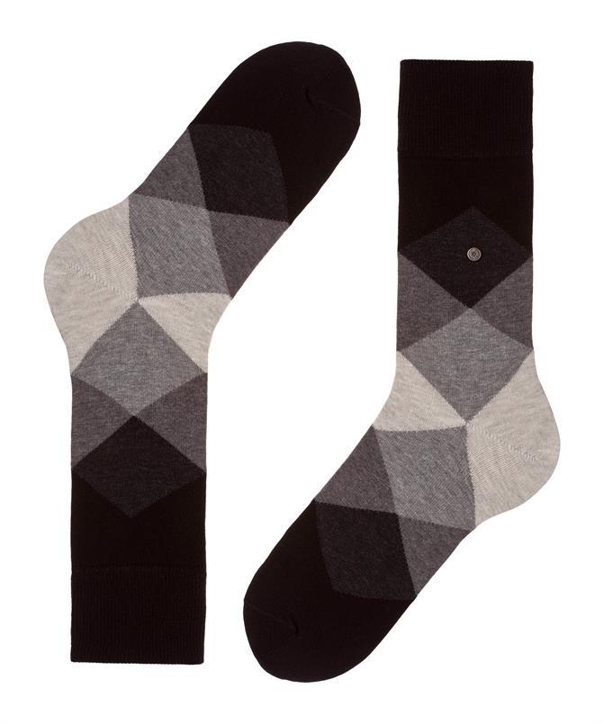Burlington zwarte Clyde sokken