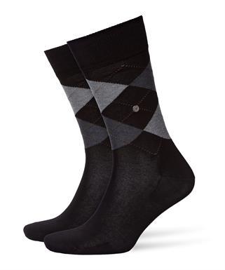 Burlington zwarte Manchester sokken
