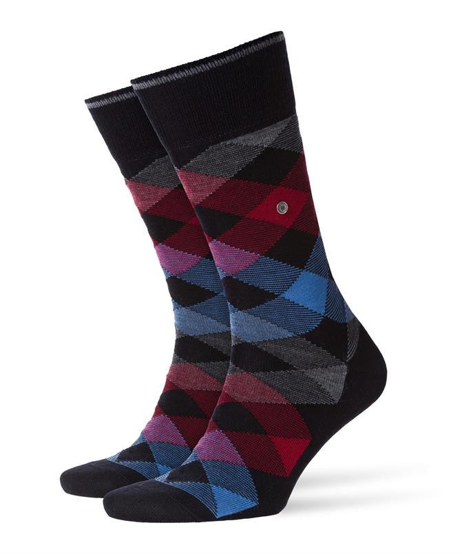 Burlington zwarte Newcastle sokken