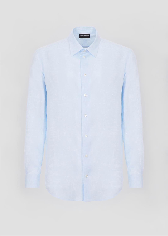 Lichtblauw Overhemd.21sm0l
