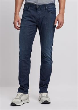 Emporio Armani Slim-fit jeans in 7.5 oz comfort denim