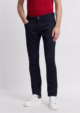 Emporio Armani Slim-fit jeans in stretch katoen denim