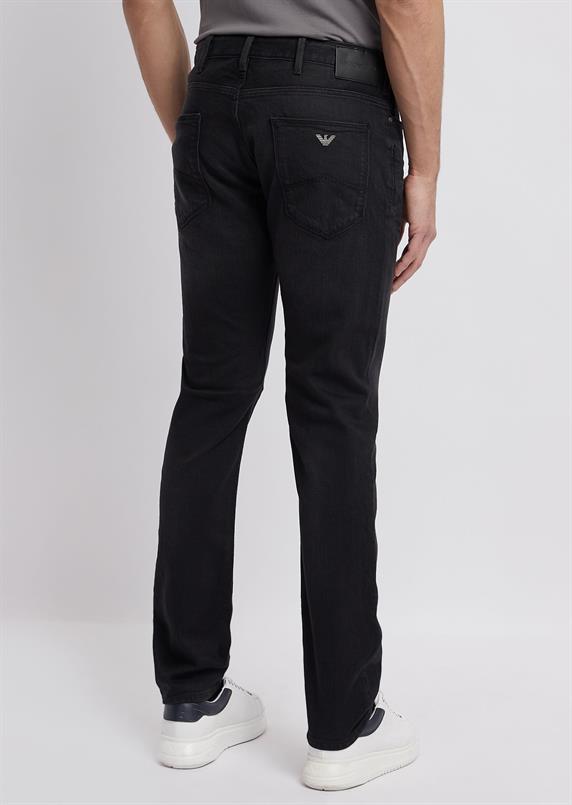 Emporio Armani Slim-fit jeans in stretch katoen denim