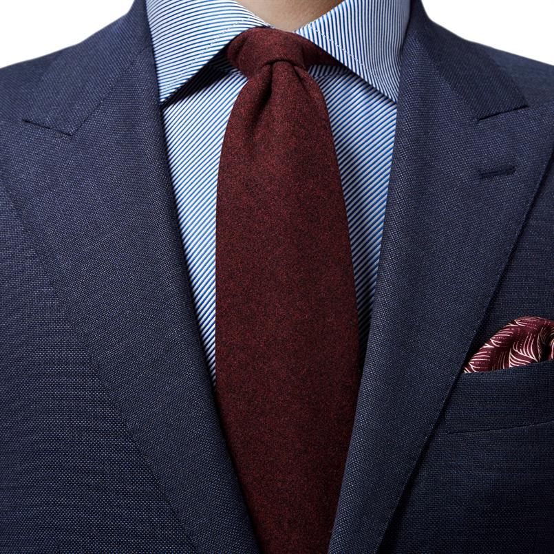 ETON bordeaux stropdas