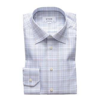 ETON checked hemd
