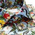 ETON floral design print hemd