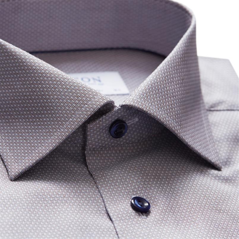 ETON groen oxford hemd