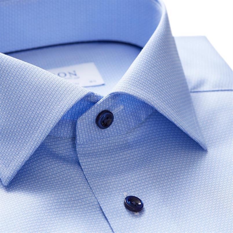 ETON lichtblauw oxford hemd