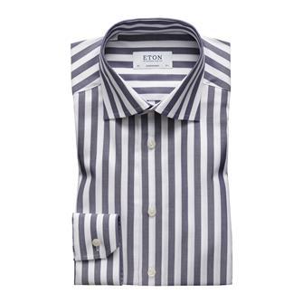 ETON marine streep twill hemd