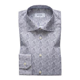 ETON paisley print hemd