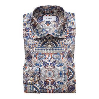 ETON paisly print hemd
