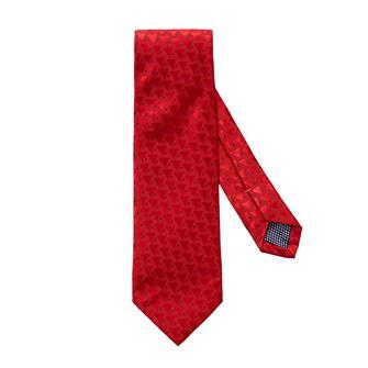 ETON rode geometrische print stropdas