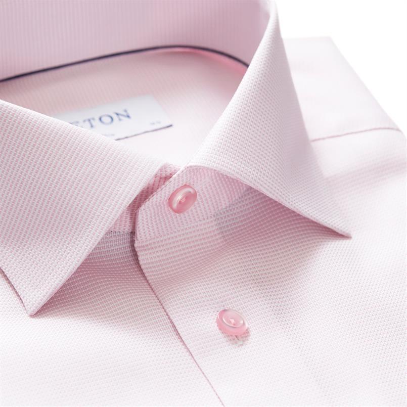 ETON roze twill hemd