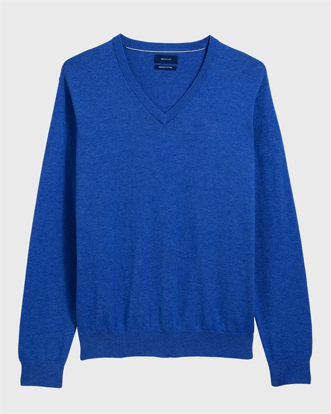 GANT Lichtgewicht katoenen sweater met V-hals