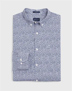 GANT Overhemd in Regular Fit met rozen- en stippenprint