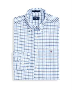 GANT Oxford-shirt met Tattersall-ruitje in Regular Fit