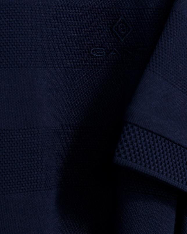 GANT pique jersey stripe polo