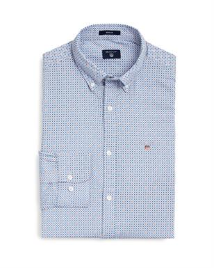 GANT Sportief overhemd met microprint in Regular Fit