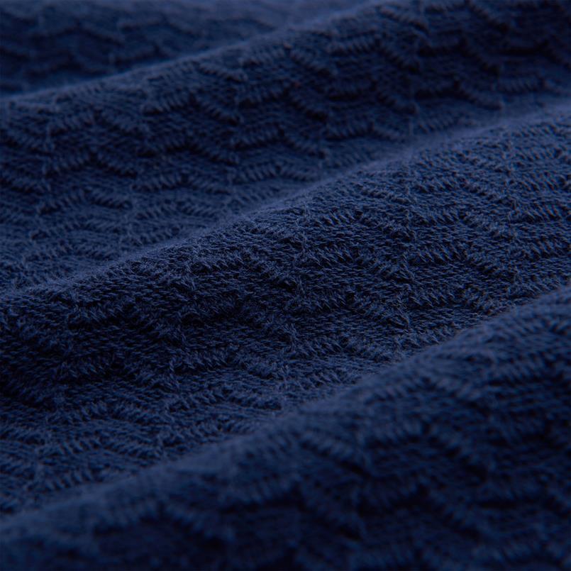 GANT Sweater met visgraatmotief en korte rits