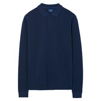 GANT Sweatshirt met honingraatmotief en kraag