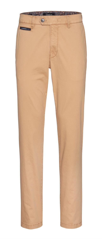 Gardeur oranje broek Benny 3