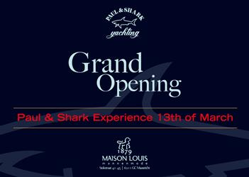 Grand Opening Paul & Shark Experience Maastricht