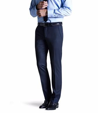 Meyer gabardine wol stretch pantalon Bonn