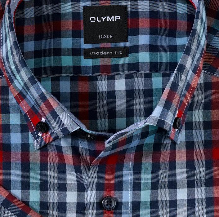 Olymp korte mouw luxor modern fit hemd