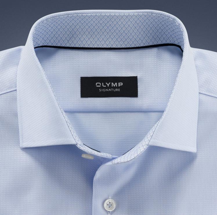 Olymp Signature lichtblauw Signature hemd