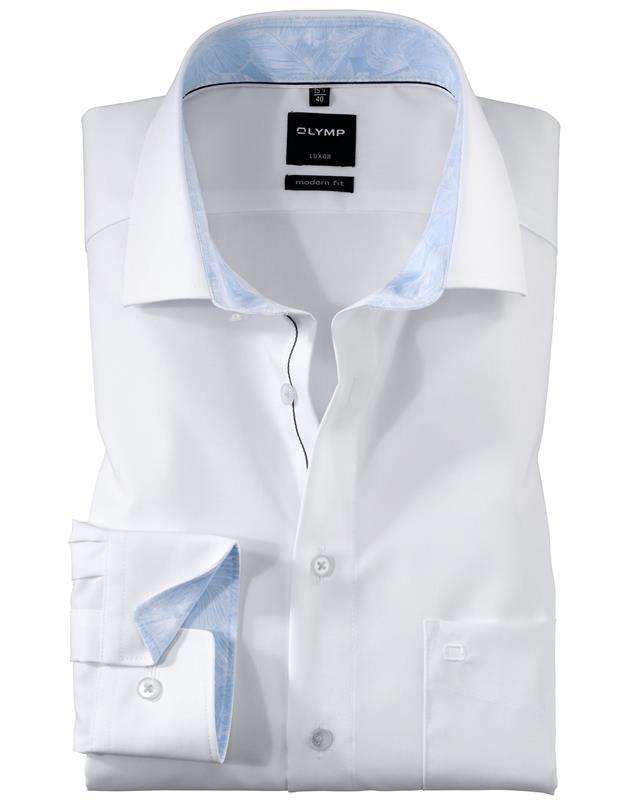 Olymp wit luxor modern fit hemd