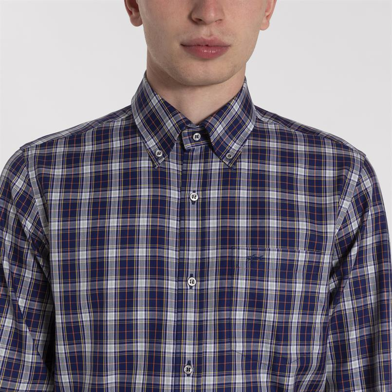 Paul & Shark geruit overhemd - I19P3108