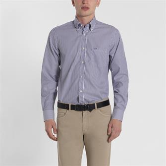 Paul & Shark gestreept overhemd - I19P3230