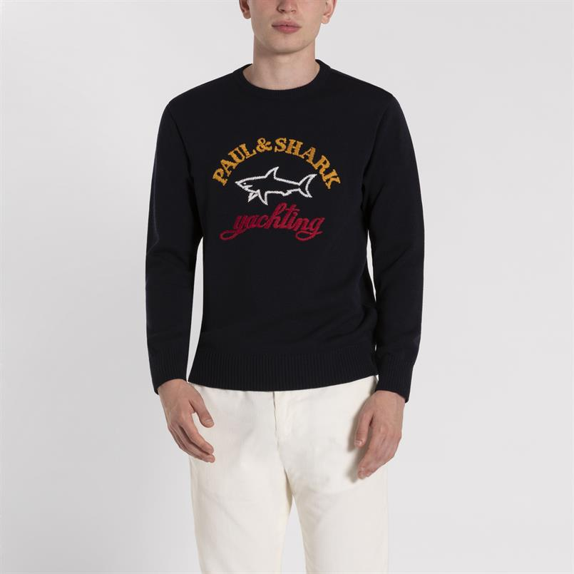 Paul & Shark logo pullover - I19P1412