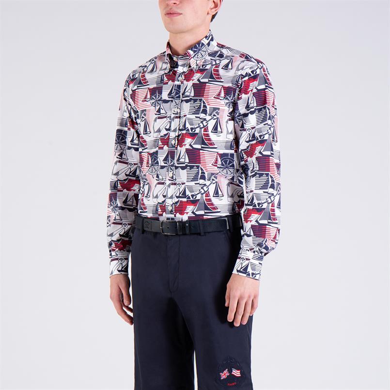 Paul & Shark overhemd lange mouw - P20P3266