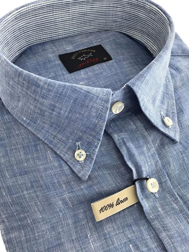 Paul & Shark Overhemd linnen - LM - P19P3194
