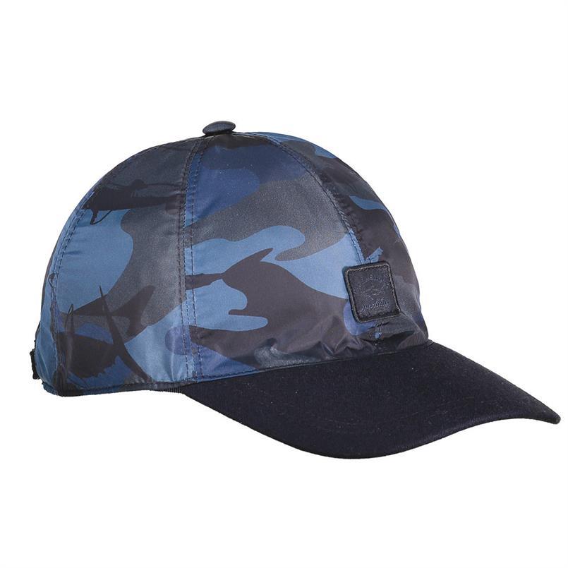 Paul & Shark Pet/cap in blauw - I18P7119