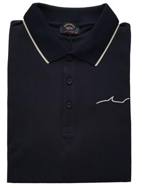 Paul & Shark Polo in Navy KM - E19P1250