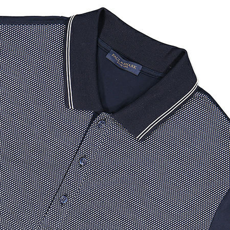 Paul & Shark Polo in Navy KM - E19P1279