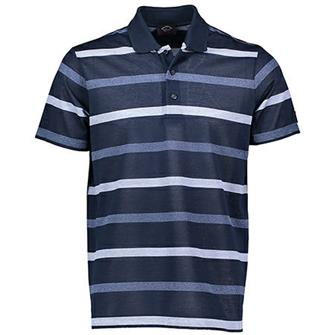 Paul & Shark Polo Navy streep KM E19P1320