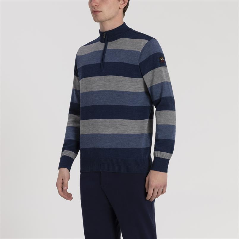 Paul & Shark pullover multistreep - I19P1101