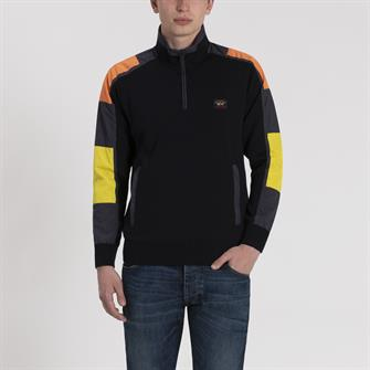Paul & Shark pullover signal zip - I19P1135