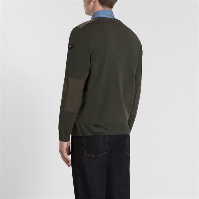 Paul & Shark pullover/trui groen C0P1027