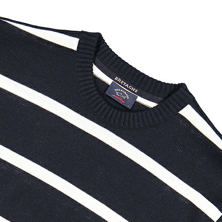 Paul & Shark pullover/trui in blauw - C0P1031